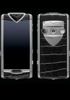 Vertu Constellation T Polished Stainless Steel Black Mới 100% Fullbox