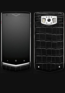 Vertu Extraordinary Black Alligator mới 100% Fullbox