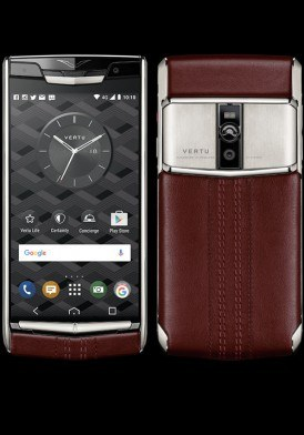 Vertu New Signature Touch Garnet Calf mới 100% fullbox
