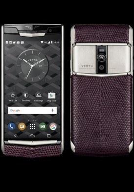 Vertu New Signature Touch Grape Lizard mới 100% fullbox