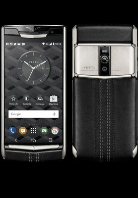 Vertu New Signature Touch Jet Calf mới 100% fullbox
