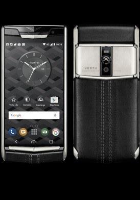 Vertu New Signature Touch Jet Calf mới 100% fullbox