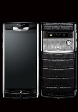 Vertu Signature Touch Clous de Paris Alligator mới 100% fullbox