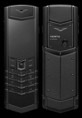Vertu Signature S Pure Black Mới 100% Full Box