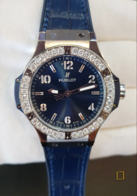 Hublot Big Bang Steel Diamonds 41mm Đã Sử Dụng