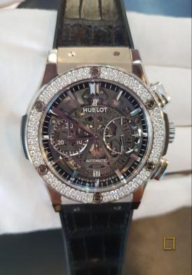 Hublot Classic Fusion Aerofusion Titanium Diamonds 45 mm Đã Sử Dụng