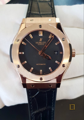 Hublot Classic Fusion King Gold 42mm Mới 100%