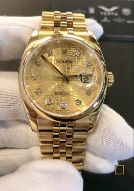 Rolex vang khoi mat vi tinh 36mm