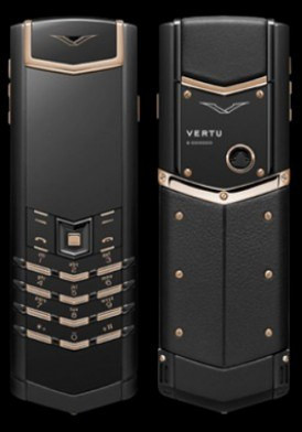 Vertu Signature S Pure Black Mix Metal 95%
