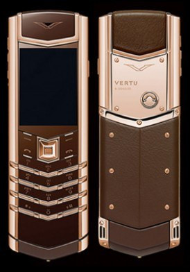 Vertu Signature S Pure Chocolate Gold 95%