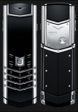 Vertu Signature S White Gold 95%