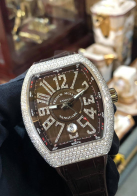 Franck Muller V41 Chocolate Diamond New Full Box