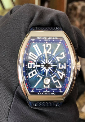 Franck Muller Vanguard Yachting V41 New 100%