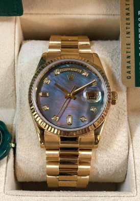 ROLEX 118238 Mặt Xà Cừ 36mm Full Box Like New