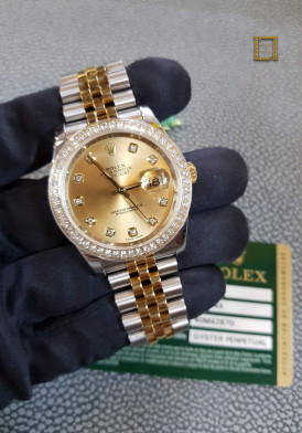 Rolex 116243 Steel Yellow Gold Diamond