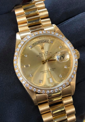 Rolex 18048 Yellow Gold