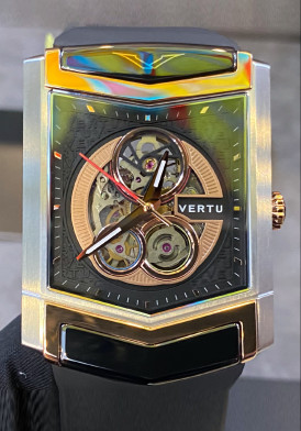 Vertu Watch Steel Mix Rose Gold New 100% Full Box
