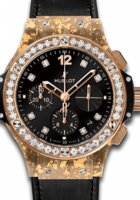 Hublot Big Bang Gold Linen Natural Gold With Diamond Limited Edition Mới 100%