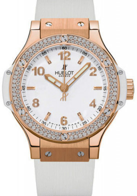Hublot Big Bang Gold White Diamonds 38mm Đã Sử Dụng