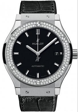 Hublot Classic Fusion Bezel Diamond 42mm Mới 100%