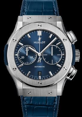 Hublot Classic Fusion Blue Chronograph Đã Sử Dụng