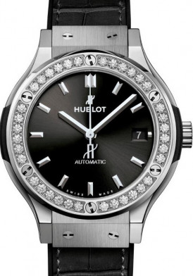 Hublot Classic Fusion Diamond Bezel 33mm Mới 100%
