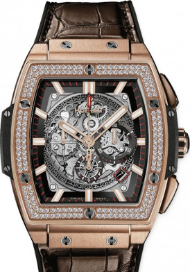 HUBLOT SPIRIT OF BIG BANG 601.OX.0183.LR.1104 DIAMONDS 45