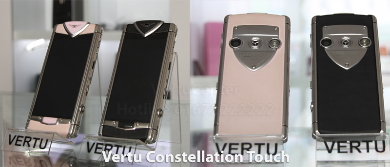Vertu Touch Black Leather